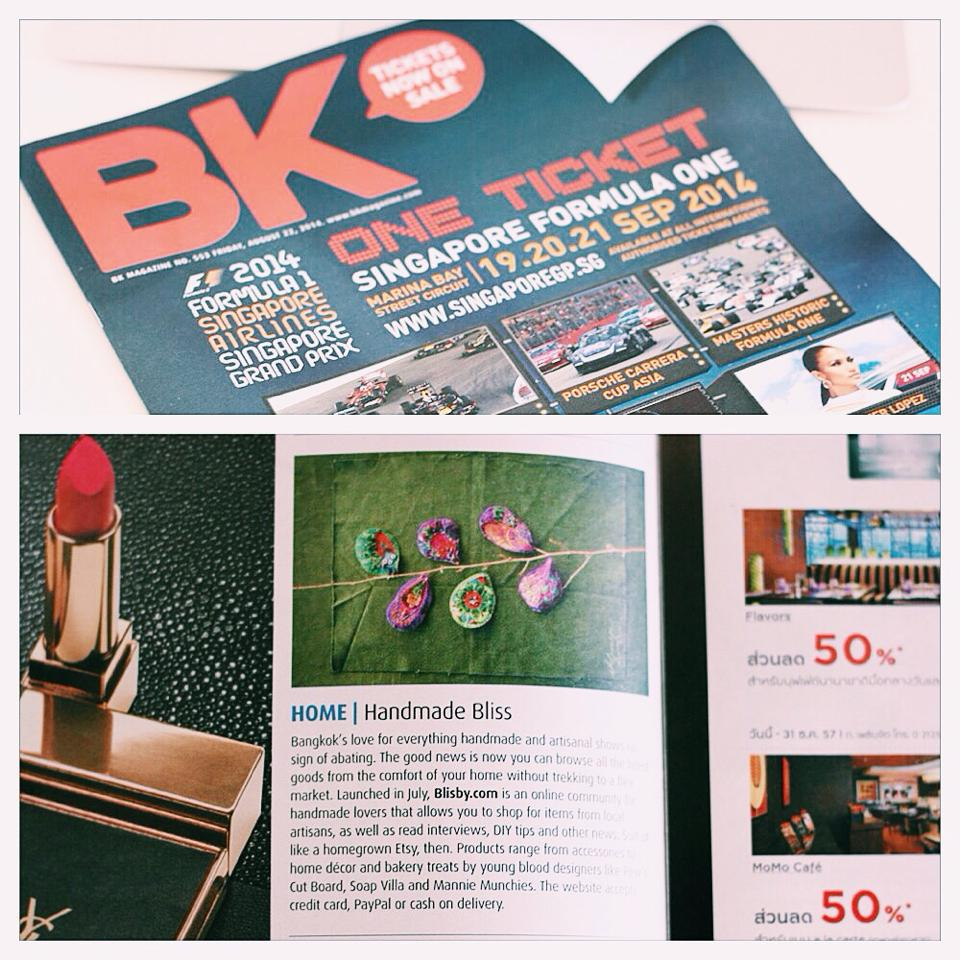 Blisby on BK magazine