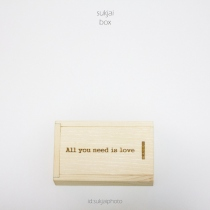 Wooden USB Box set By Sukjai at Blisby