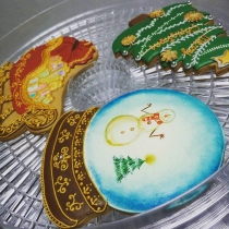 Christmas Cookies at Blisby
