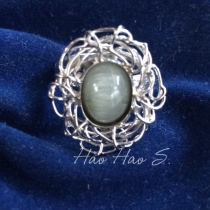 Pongkam Silver 925 Ring size 55 at Blisby