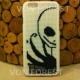 Jack Skellington Cross Stitch iPhone Case