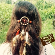 Dreamcatcher Hair Tie at Blisby