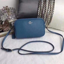 COACH F65988  COACH CROSSBODY POUCH IN PEBBLE LEATHER at Blisby