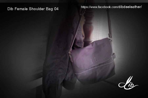 Dib Female Shoulder Bag04 (Violet color) ขายแล้ว large image 0 by Dibdee