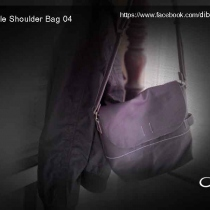 Dib Female Shoulder Bag04 (Violet color) ขายแล้ว at Blisby