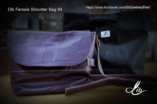Dib Female Shoulder Bag04 (Violet color) ขายแล้ว large image 2 by Dibdee