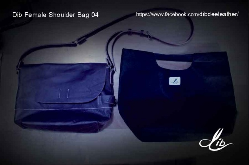 Dib Female Shoulder Bag04 (Violet color) ขายแล้ว large image 3 by Dibdee