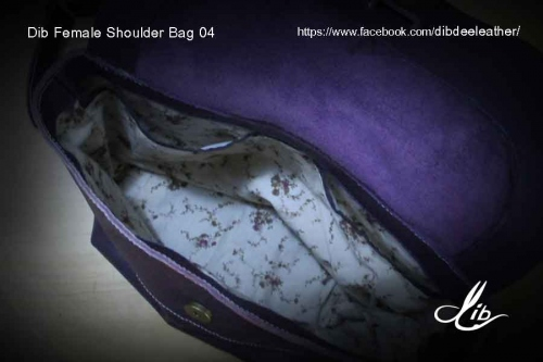 Dib Female Shoulder Bag04 (Violet color) ขายแล้ว large image 4 by Dibdee