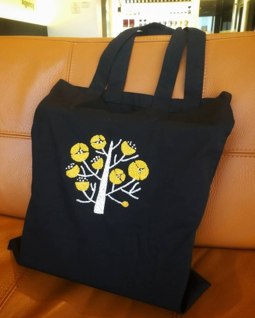 Tote bag embroidery large image 0 by TamRrom