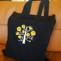 Tote bag embroidery at Blisby