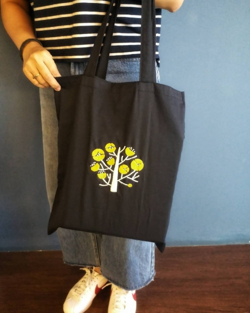 Tote bag embroidery large image 1 by TamRrom