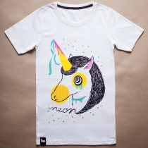Size M | เสื้อยืดลาย Unicorn Party by.MOG at Blisby