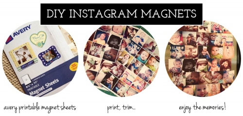 Insta Magnet 2.5x2.5 นิ้ว  large image 0 by DIYbySarita