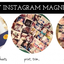 Insta Magnet 2.5x2.5 นิ้ว  at Blisby