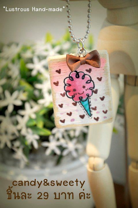 "keychain พวงกุญแจไม้ Collection ""sweety"" (keyrings)  large image 1 by vachidesign"