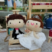 Sweety Bride and Groom at Blisby