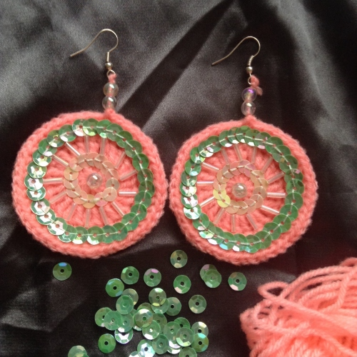 Earring  large image 0 by Crocheting