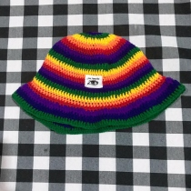 rainbow hat at Blisby