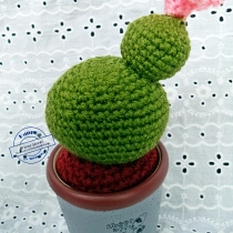 middle cactus crochet at Blisby