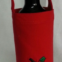 sold out/ ถุงไวน์ wine bottle bag ถุงผ้าไวน์ at Blisby