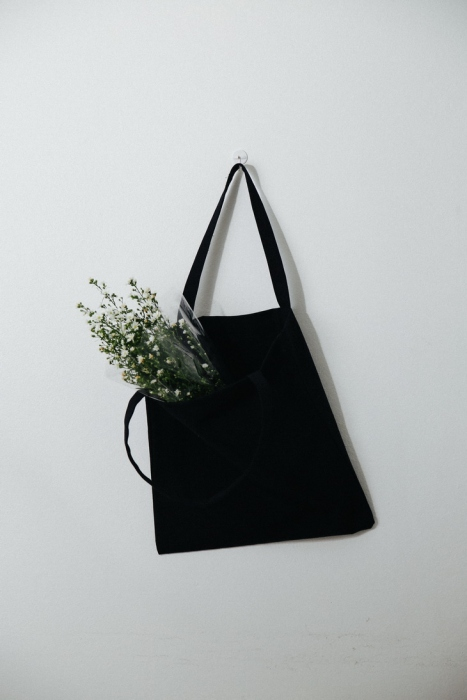 TOTE BAG สีดำ (ผ้าหนา) large image 0 by somewherewardrobe