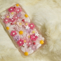 IPhone case flower pink  at Blisby
