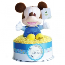 Mickey Mouse Diaper Cake เค้กผ้าอ้อมตุ๊กตา Mickey Mouse (20 ชิ้น) at Blisby