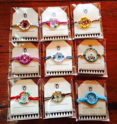 สร้อยข้อมือ Dream catcher chippe large image 0 by RromShop
