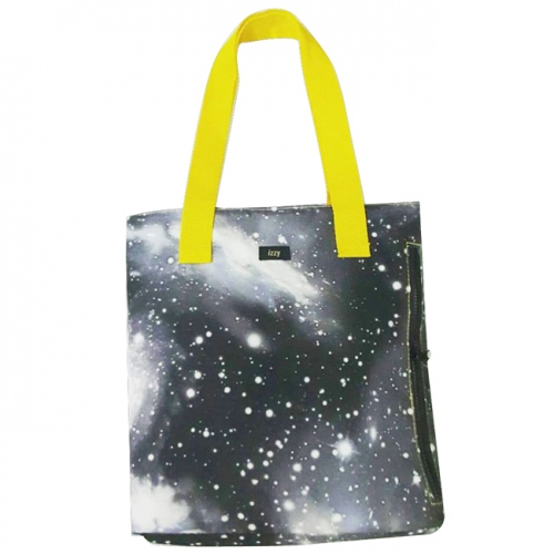 Galaxy grey tote large image 0 by izzymoda
