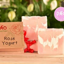 Rose Yogurt Soap at Blisby