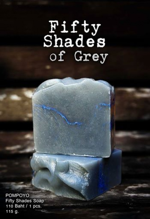 POMPOYO SOAP : Fifty shades of grey large image 0 by POMPOYO