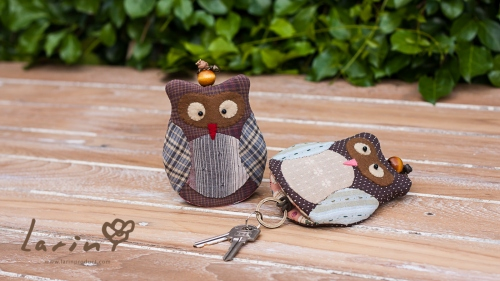 Keycover Owl นกฮูกสัญลักษณ์แห่งความสุขและโชคดี! by Larin large image 0 by Larinproduct