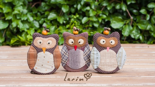 Keycover Owl นกฮูกสัญลักษณ์แห่งความสุขและโชคดี! by Larin large image 1 by Larinproduct