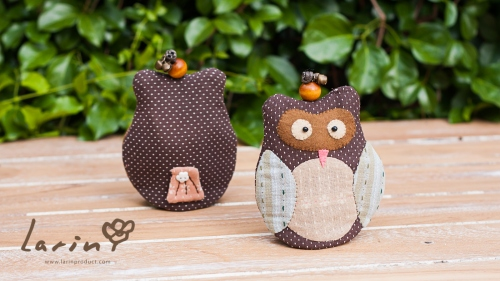 Keycover Owl นกฮูกสัญลักษณ์แห่งความสุขและโชคดี! by Larin large image 2 by Larinproduct