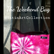 The Weekend Bag Pink 01  at Blisby