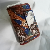 ใบกลาง.Medium 22 card wallet at Blisby