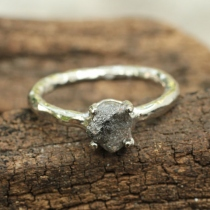 Rough diamond ring  at Blisby
