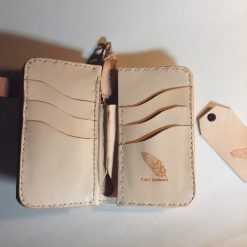 Middle wallet large image 1 by qupidhandcraft