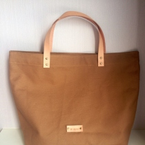 Coffee Canvas Tote at Blisby