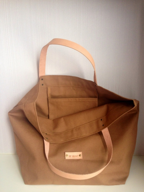 Coffee Canvas Tote large image 3 by bebrave