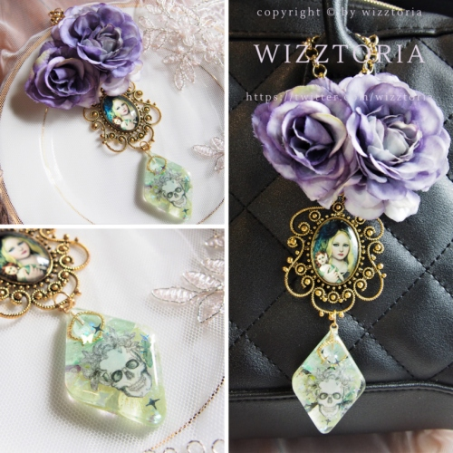 W142 #bagcharm #ROSE #Lethe large image 0 by wizztoria