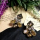 Handmade Lace Earrings in Vintage Style