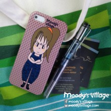Nari Polka Dot, Handmade Phone Case Moody Cute Cartoon, iPhone&Galaxy at Blisby