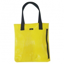 Yellow studs tote at Blisby