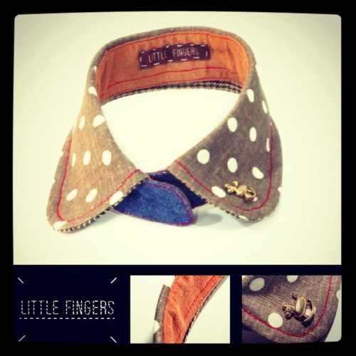 Dotty-go-round collar (A070612) large image 0 by LittleFingers