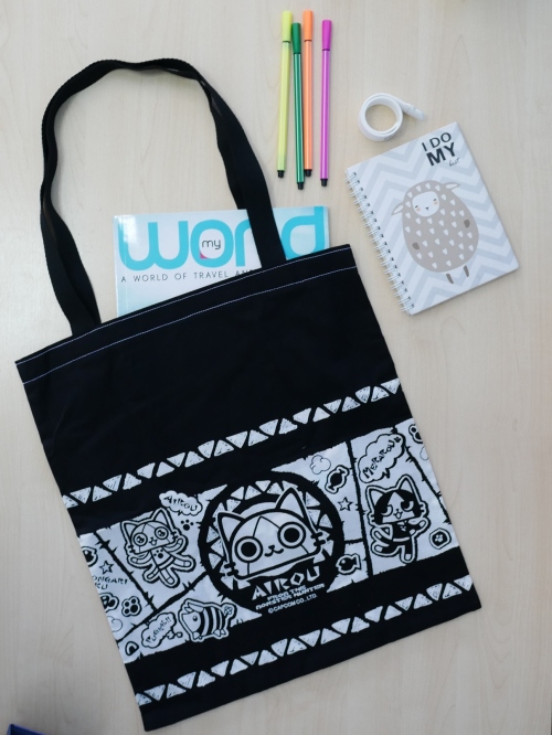 Easy Tote Bag 2 diff. sides- no lining ไม่มีซับใน large image 0 by TogetherBags