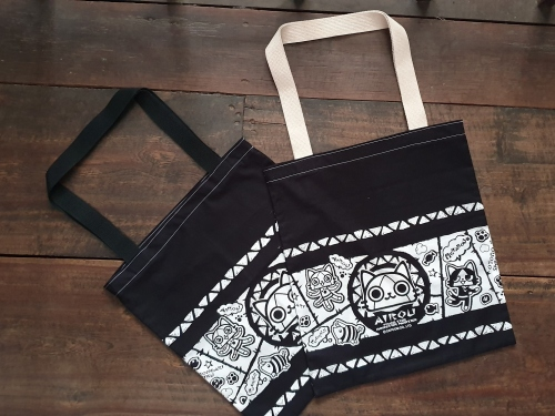 Easy Tote Bag 2 diff. sides- no lining ไม่มีซับใน large image 1 by TogetherBags