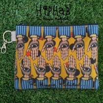 กระเป๋าซิป The Seeing Hand โดยHIPHAB The Hippie Habitat size16.5×21cm at Blisby
