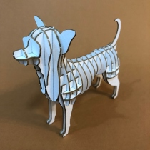 Chihuahua 3D Puzzle  at Blisby
