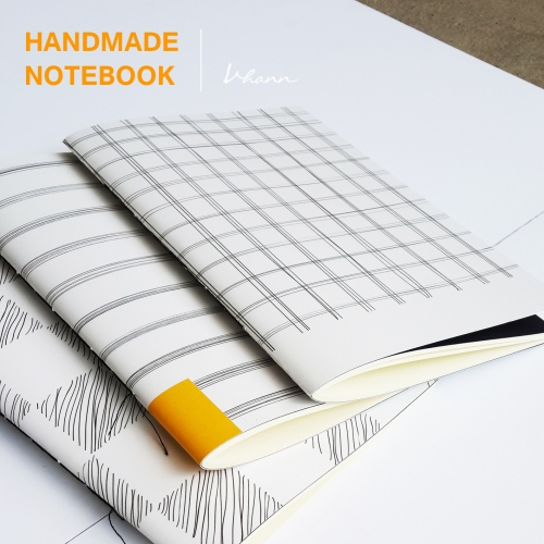 handmade notebook : Pencil line large image 1 by vhannlittle